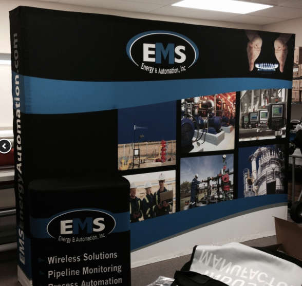 trade show backdrop design
