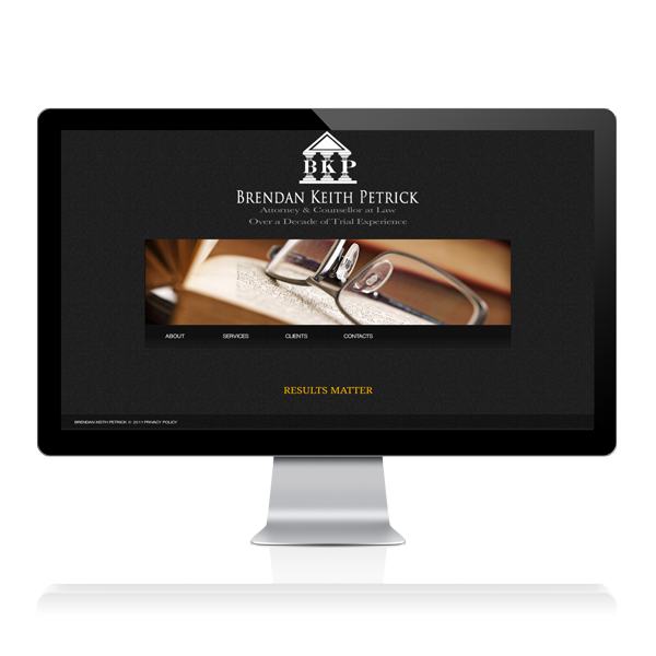 law firm attorney website design