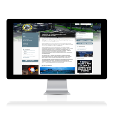 Elizabeth Borough Website Design